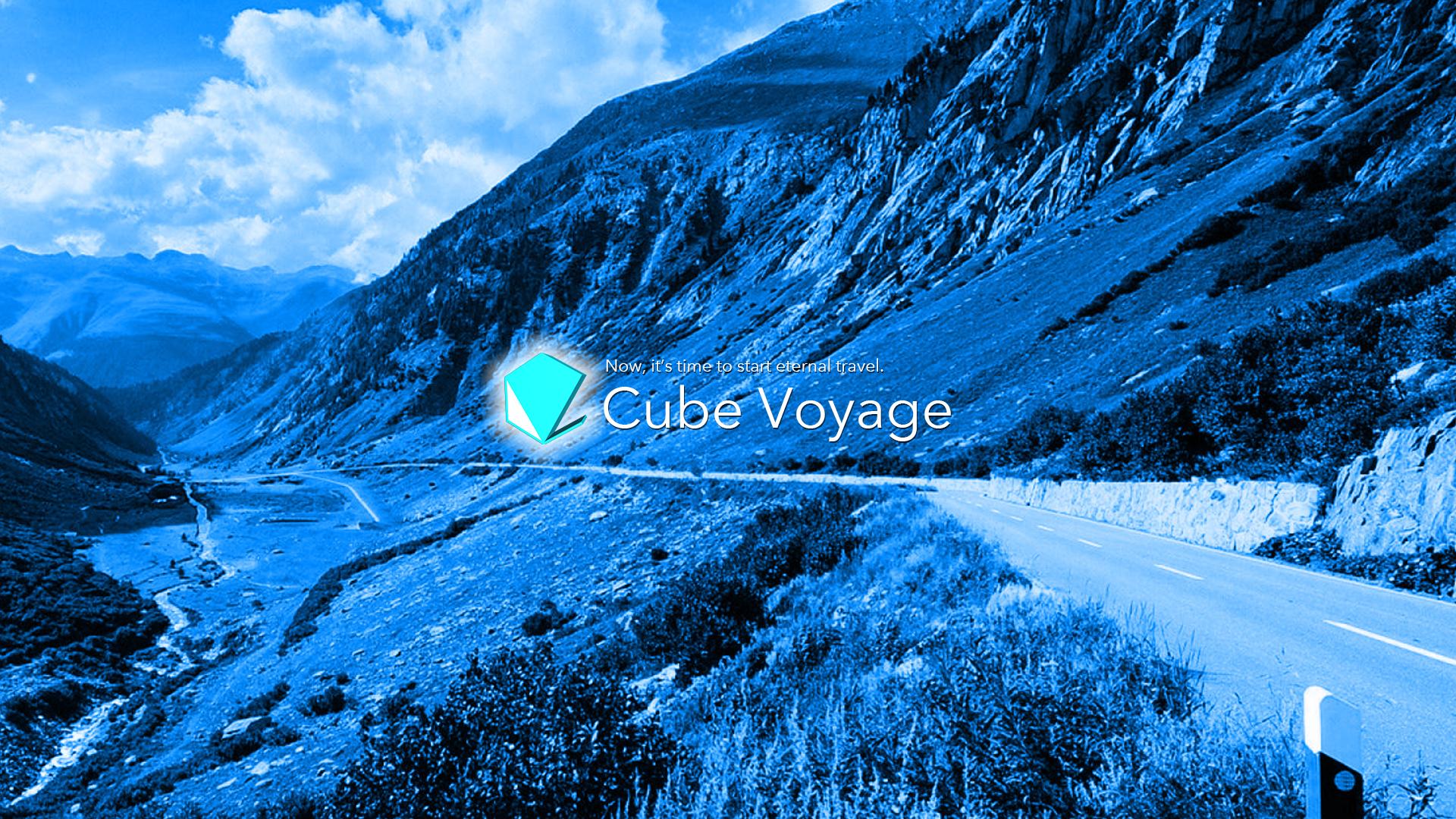 ロゴ 壁紙 Cube Voyage